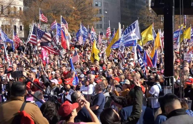"""Trump reúne su """"Maidan"""": En Estados Unidos se prepara una marcha masiva"""