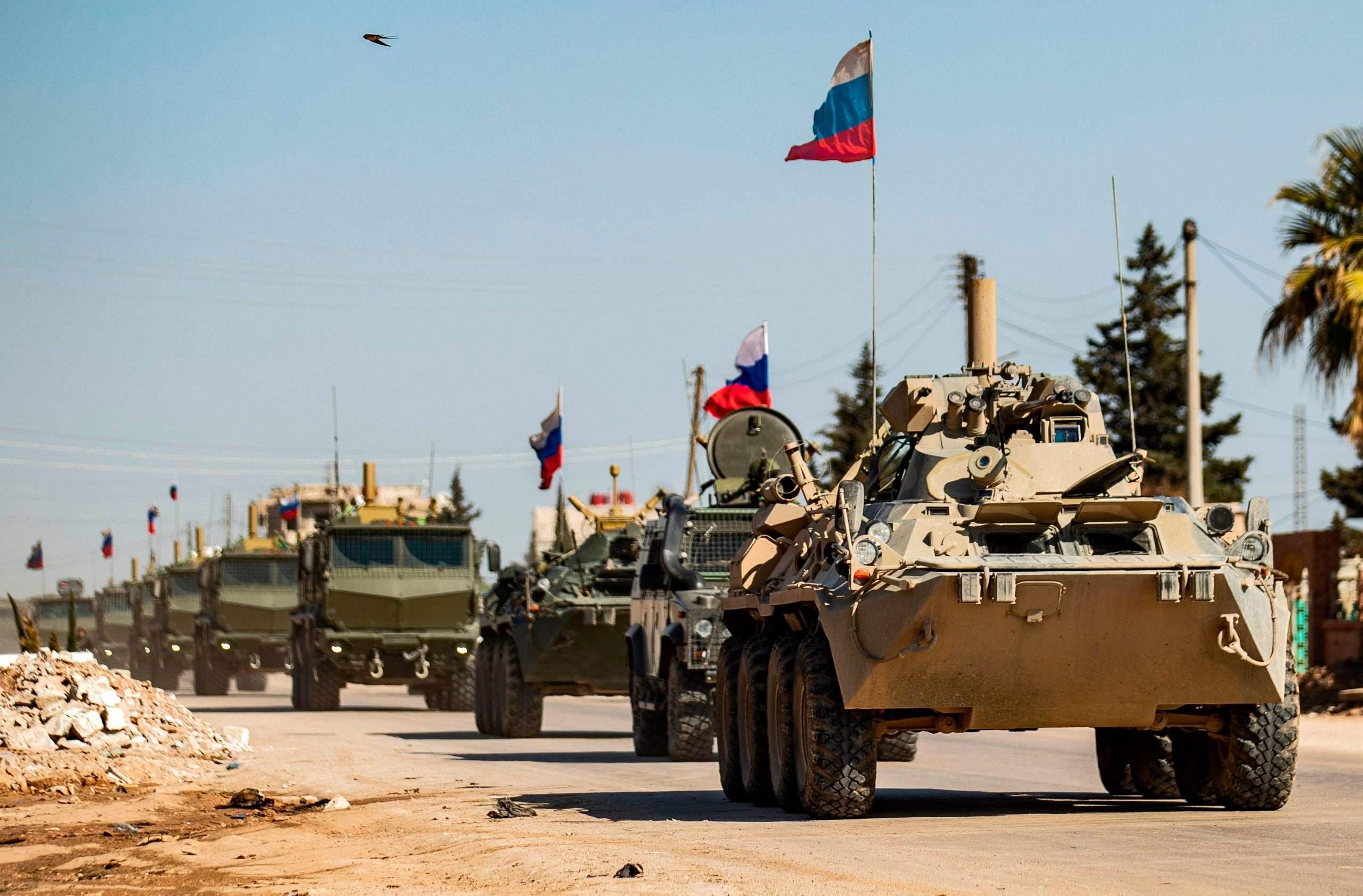 Rusia amplía puestos adicionales en la provincia fronteriza de Siria con Turquía