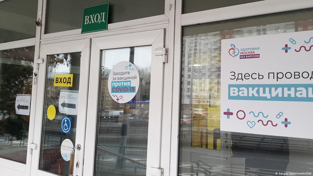 En Moscú, cerca de 200 mil personas fueron vacunadas contra el COVID-19.