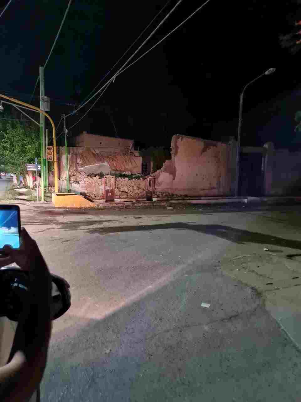Un fuerte sismo golpeó el oeste de Argentina