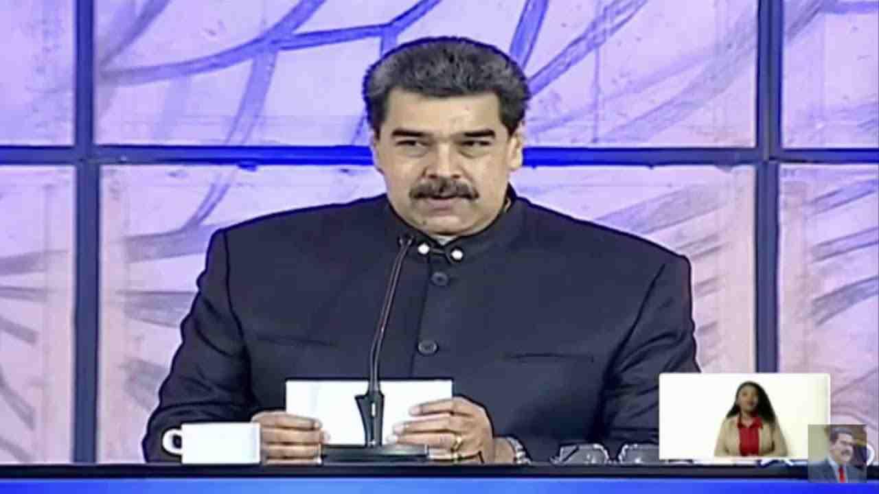 En video-Maduro: Trump se fue, lo vencimos