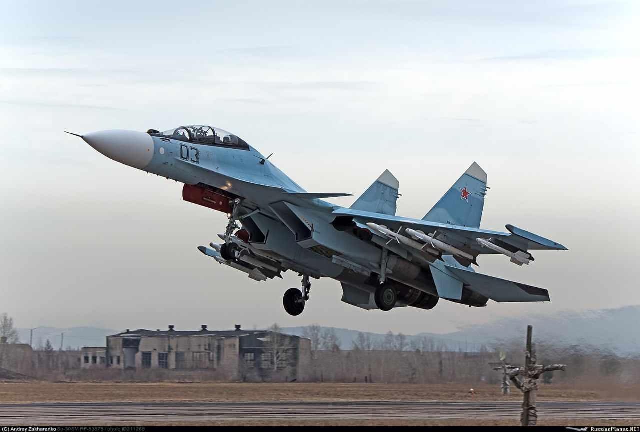 Nada de vacaciones para los pilotos rusos