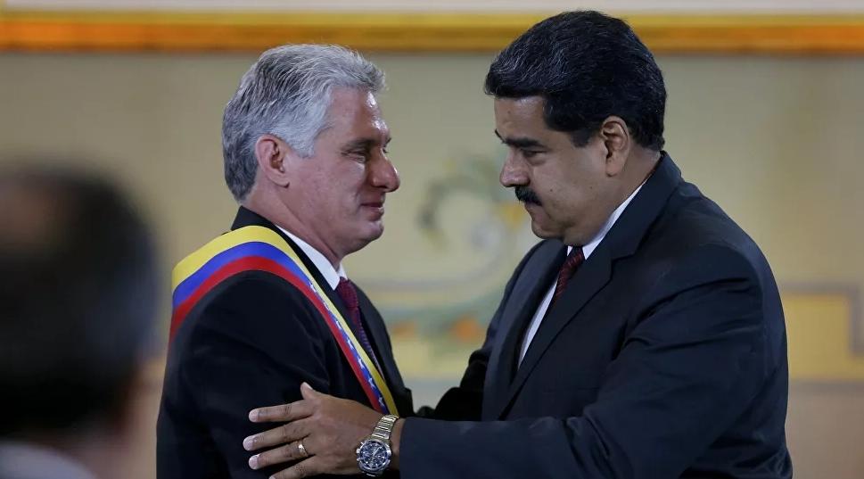 Cuba y Venezuela se unen contra el bloqueo económico
