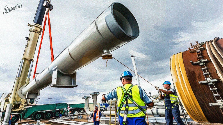 """Empresa danesa temerosa de las sanciones estadounidenses abandonó el proyecto del """"Nord Stream 2"""""""