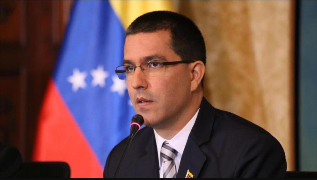 Jorge Arreaza de Venezuela denuncia la postura del saliente Trump contra el pueblo venezolano
