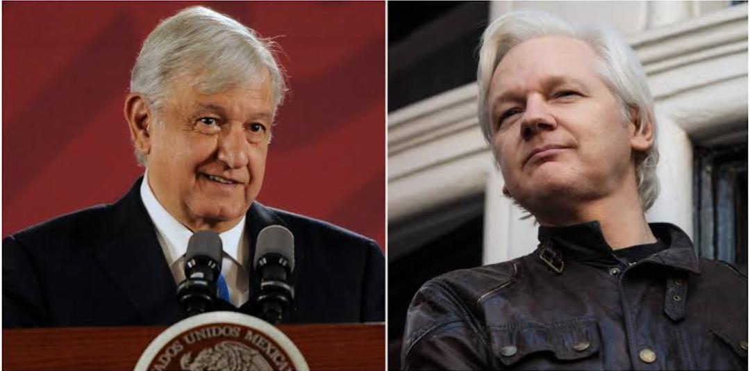 México tomará medidas para otorgar asilo político a Julian Assange : Presidente López Obrador