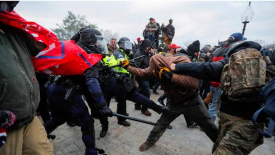 """China compara el asalto al Capitolio con las protestas de Hong Kong y espera que Estados Unidos pueda disfrutar de """"paz, estabilidad y seguridad lo antes posible"""""""