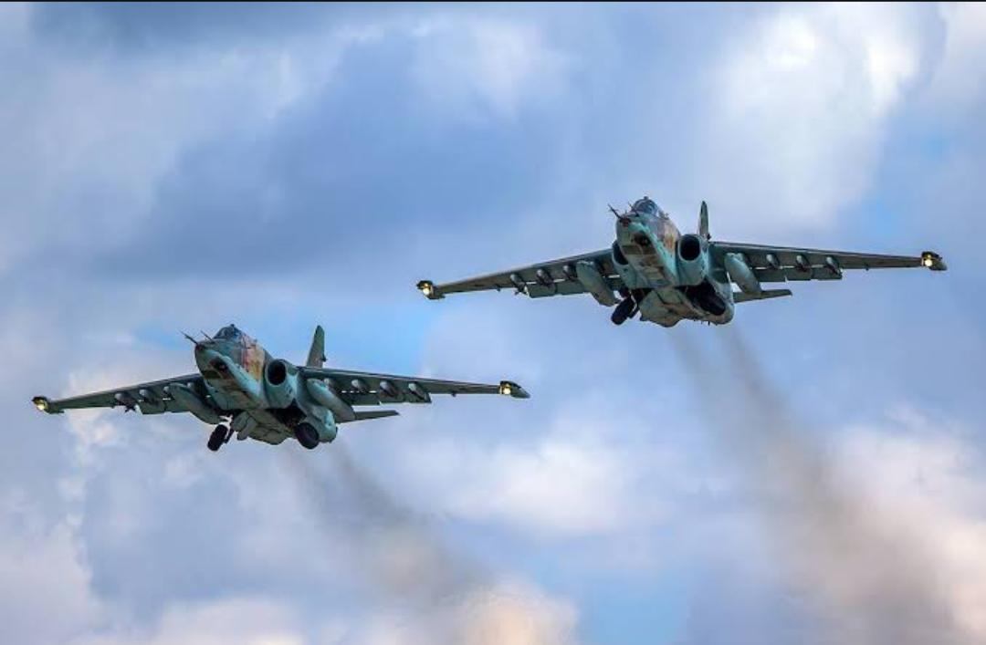 (Video) La Fuerza Aérea de Rusia bombardea una base terrorista en Idlib