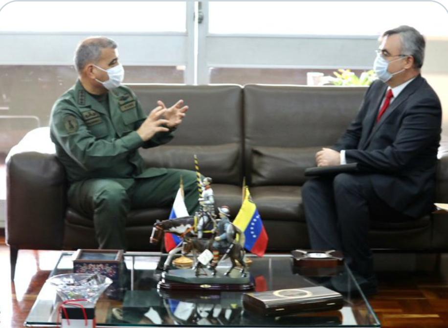 Venezuela y Rusia abogan por fortalecer la cooperación militar