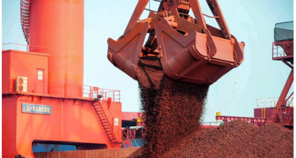 China aumenta las importaciones de mineral de hierro de India en casi un 90% para satisfacer la creciente demanda
