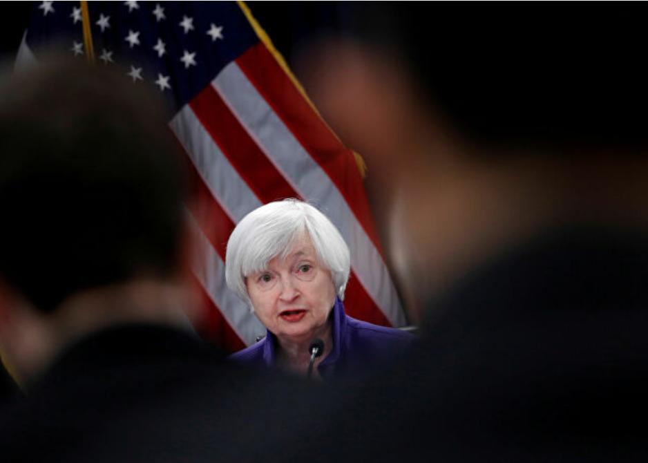 La secretaria del Tesoro de Estados Unidos, Yellen, promete ser dura con Rusia para defender a Ucrania