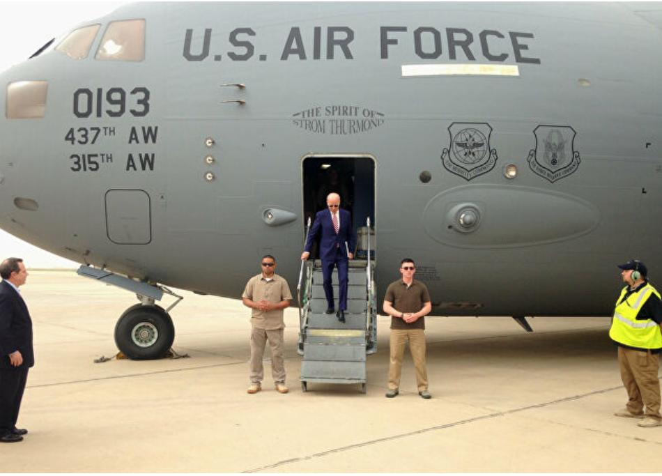 """De vuelta a las guerras en el primer día """": Trump Jr ataca a Biden por los informes de que Estados Unidos podría reforzar su presencia en Irak"""