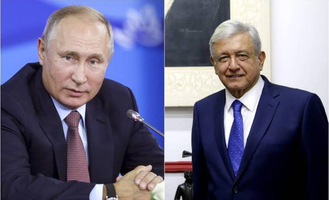 Presidente AMLO acordó con el presidente Putin el envío a México de 24 millones de la vacuna rusa Sputnik V.