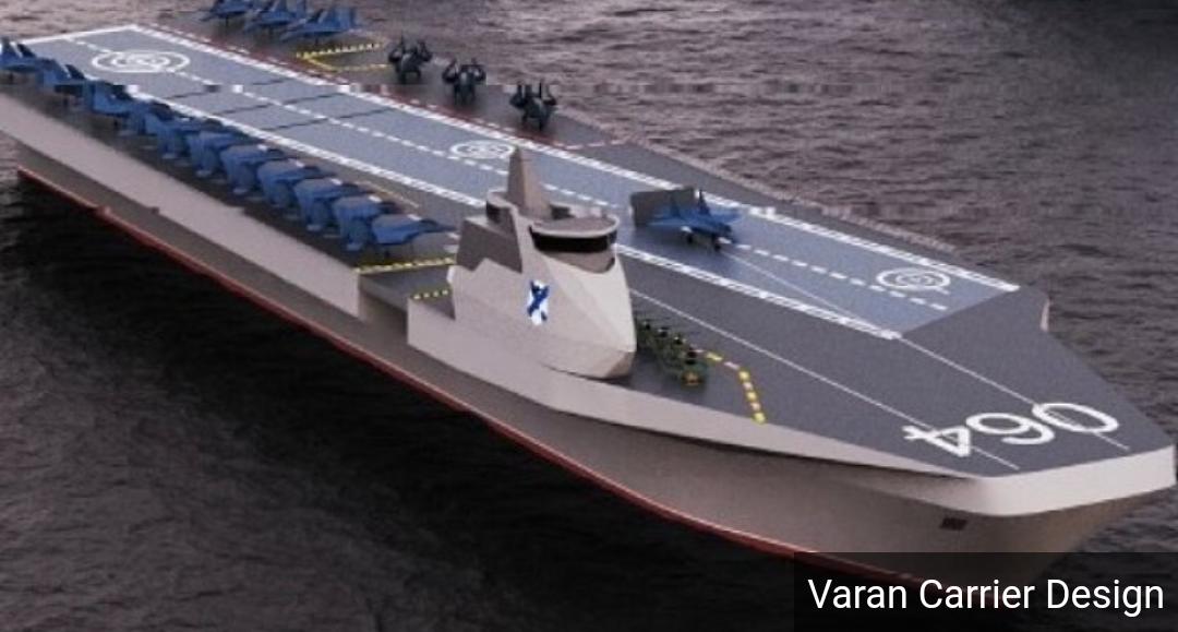 Se revela el nuevo y revolucionario diseño del portaaviones de Rusia con aviones de combate Su-35 revelados