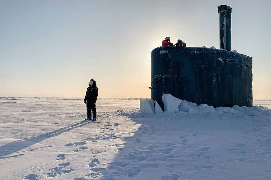 La Armada de EE. UU. despliega una nueva estrategia para ampliar las operaciones en el Ártico.