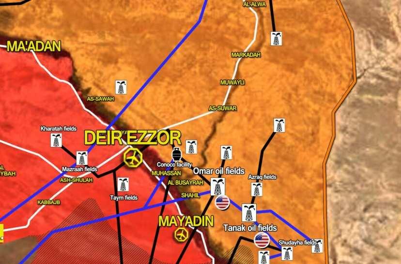 Medio de comunicación: las tropas sirias rechazaron un ataque terrorista en Deir ez Zor