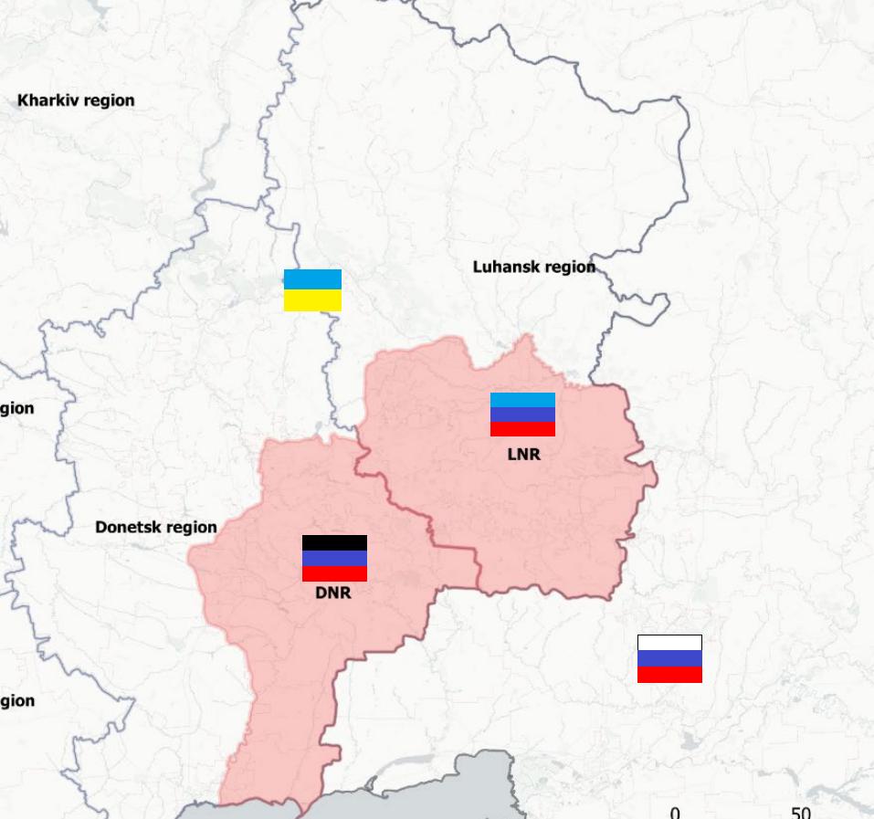 Donbass: Gorlovka bajo fuego masivo, hay una agravación a lo largo de toda la línea del frente