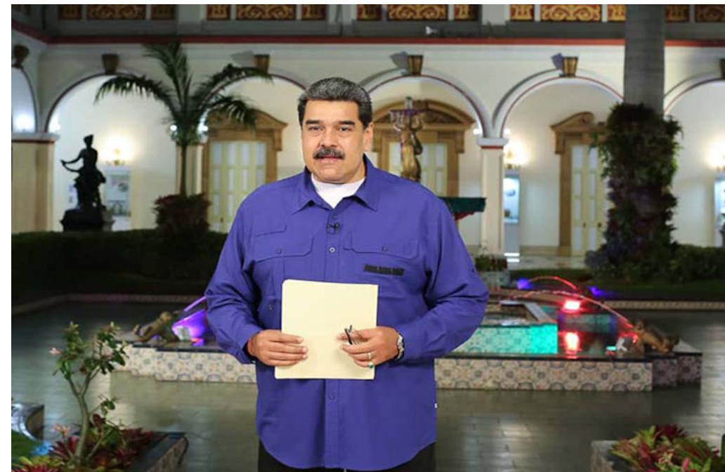 Presidente Maduro: Venezuela no aceptará la injerencia 'inquisidora' en su contra