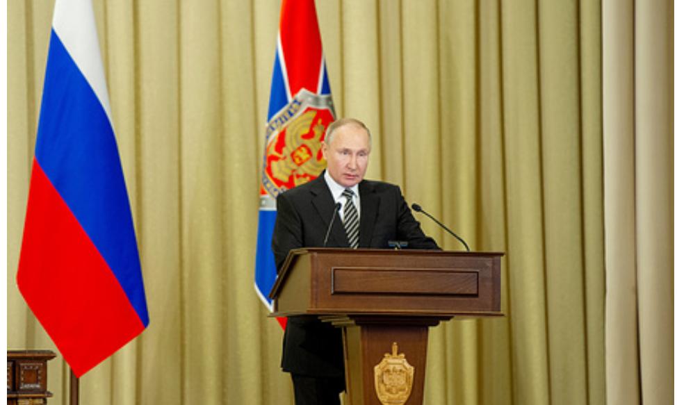 Presidente Putin anunció que tiene toda la información sobre las inminentes provocaciones contra Rusia