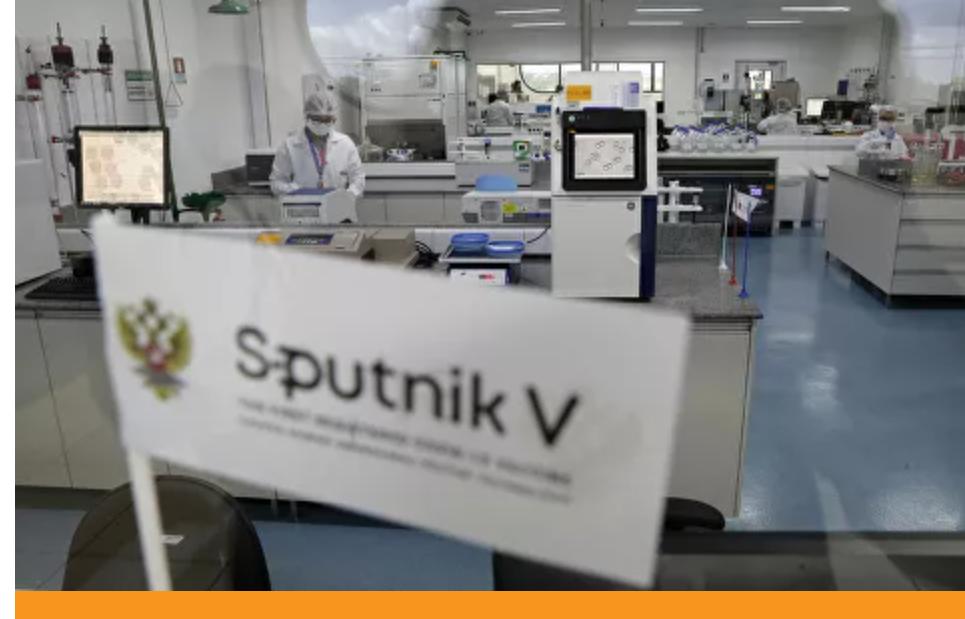 Reino Unido acoge con satisfacción la publicación sincera de los resultados en The Lancet sobre la vacuna Sputnik V de Rusia : Embajadora británica