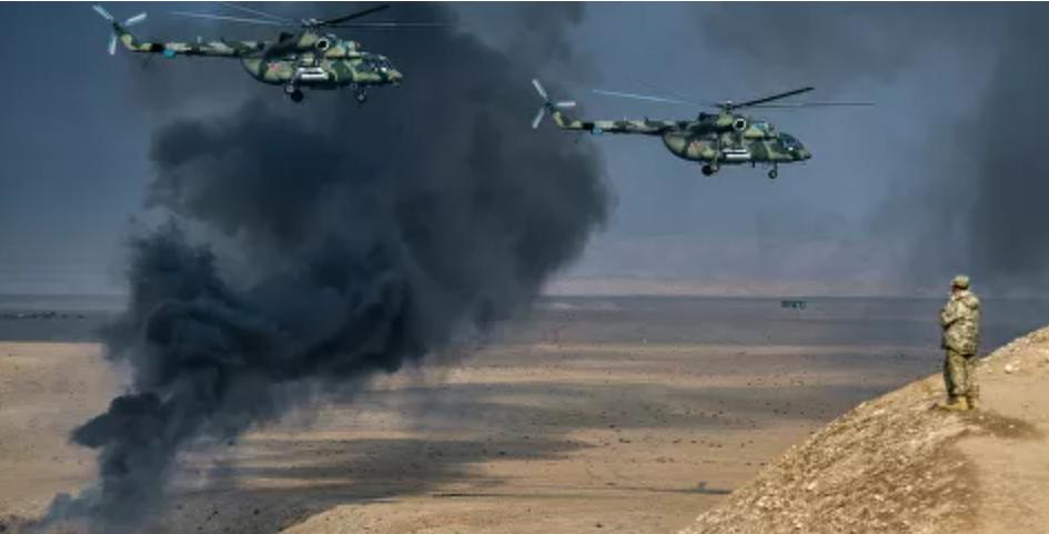 Helicóptero militar de Rusia realiza aterrizaje de emergencia en Siria