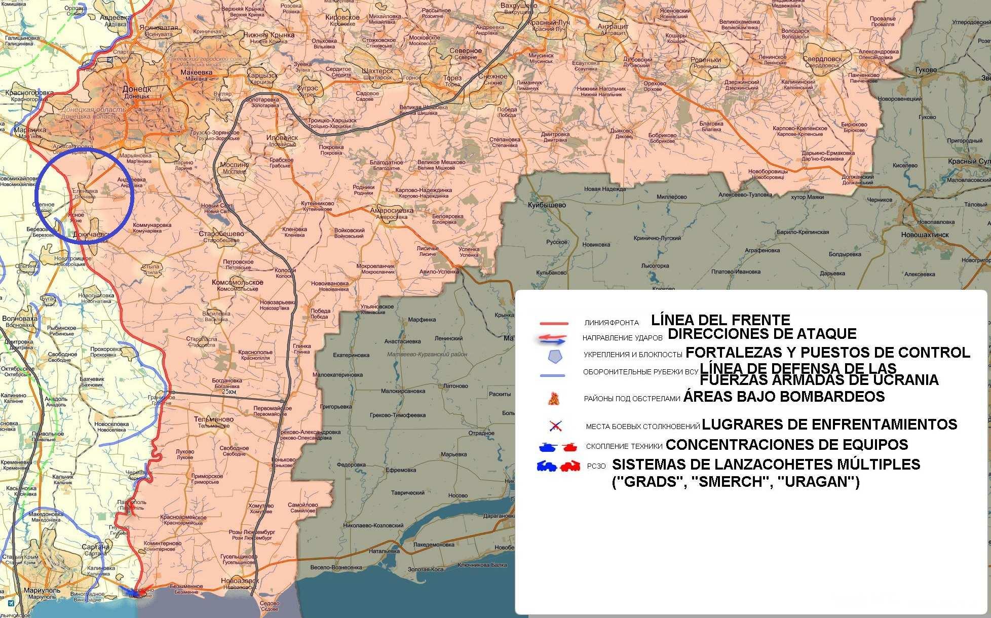 La República Popular de Donetsk culpa a las fuerzas de Ucrania de obstaculizar la entrega de ayuda humanitaria al Donbass