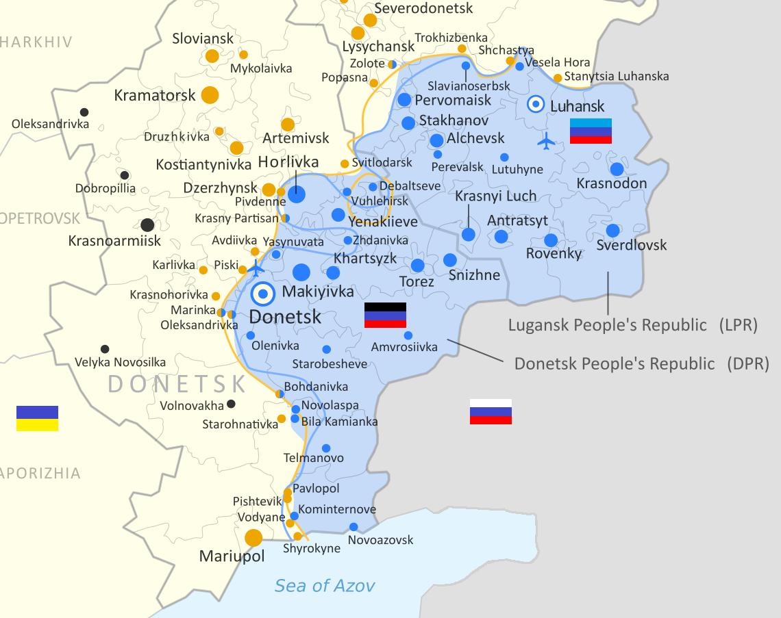 Ucrania en diciembre lanzará un satélite para rastrear y espiar la situación en el Donbass