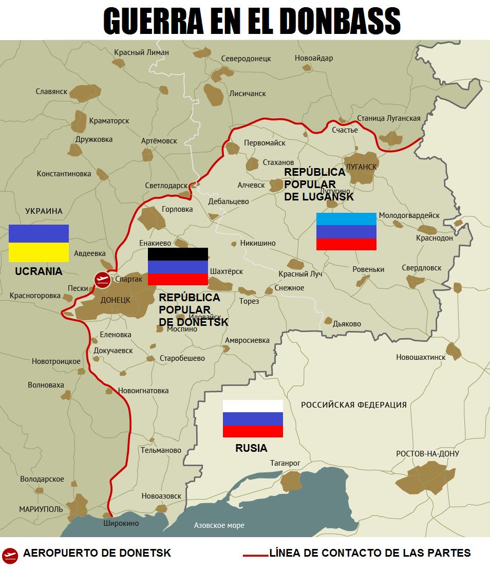 Ucrania emitió un ultimátum sobre el Donbass