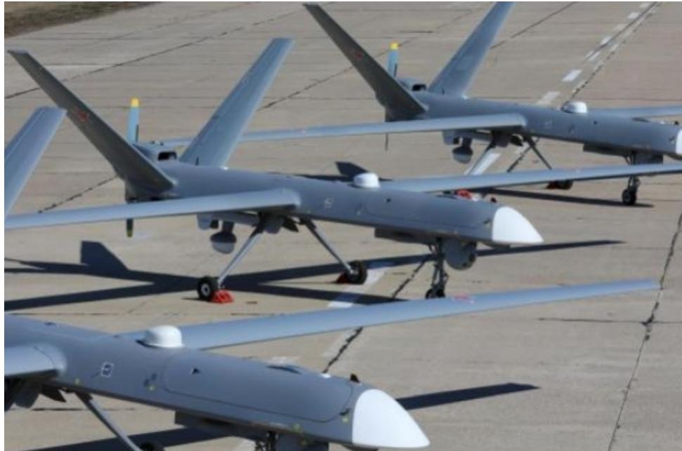 Rusia anunció la entrada en servicio de 21 aviones de ataque no tripulados ''Orion''