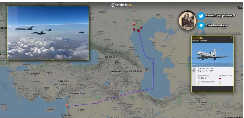 Rusia ha desplegado 4 cazabombarderos Su-34 en Siria