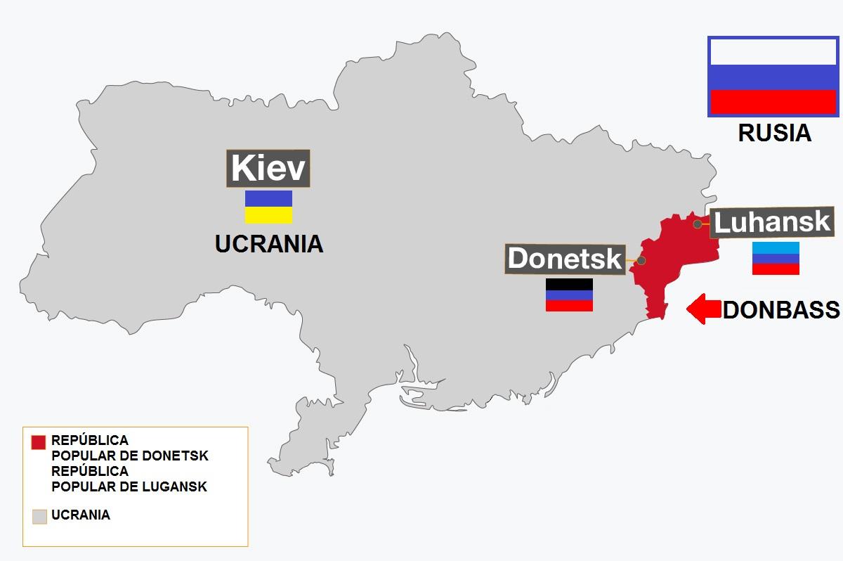 Los ucranianos no quieren el regreso de Donetsk y Lugansk