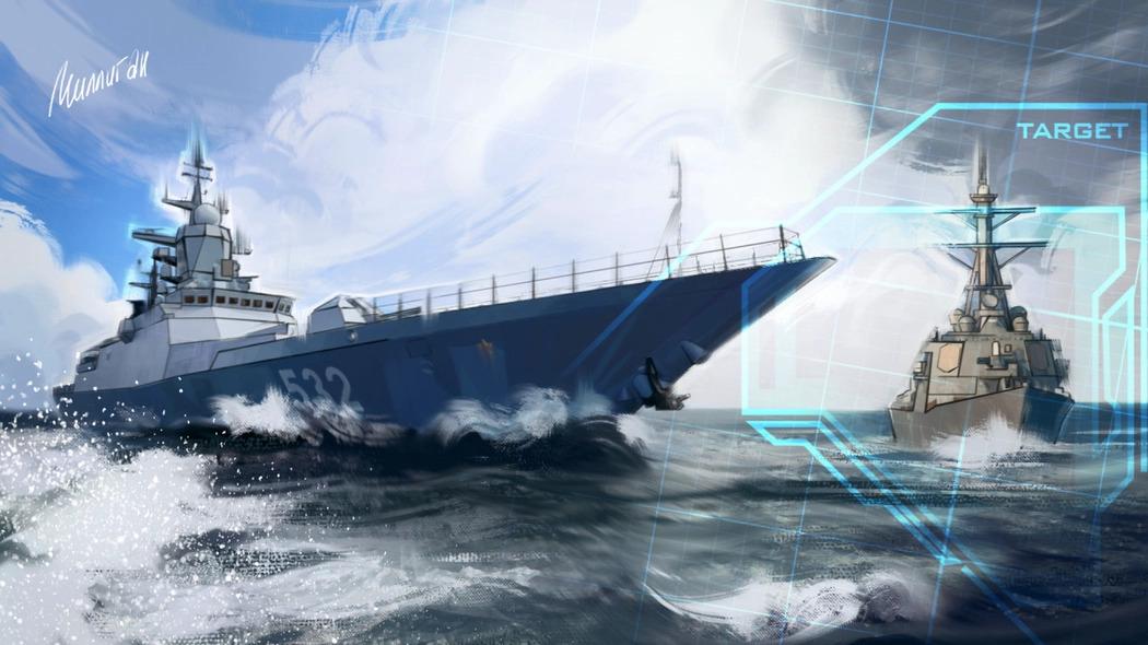 """Occidente informó sobre el """"descubrimiento"""" del grupo de ataque de la flota rusa en el Mar de Azov"""