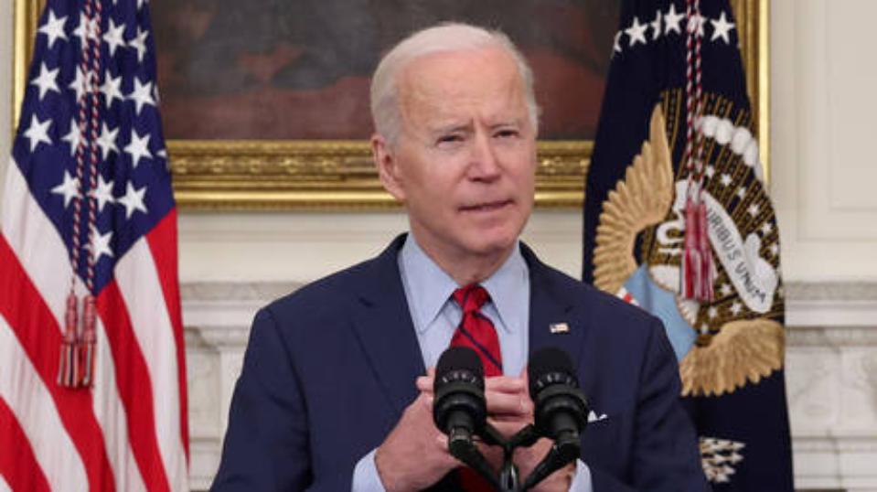 Joe Biden dijo que el uso de armas en Estados Unidos se convirtió en una epidemia y una vergüenza internacional.