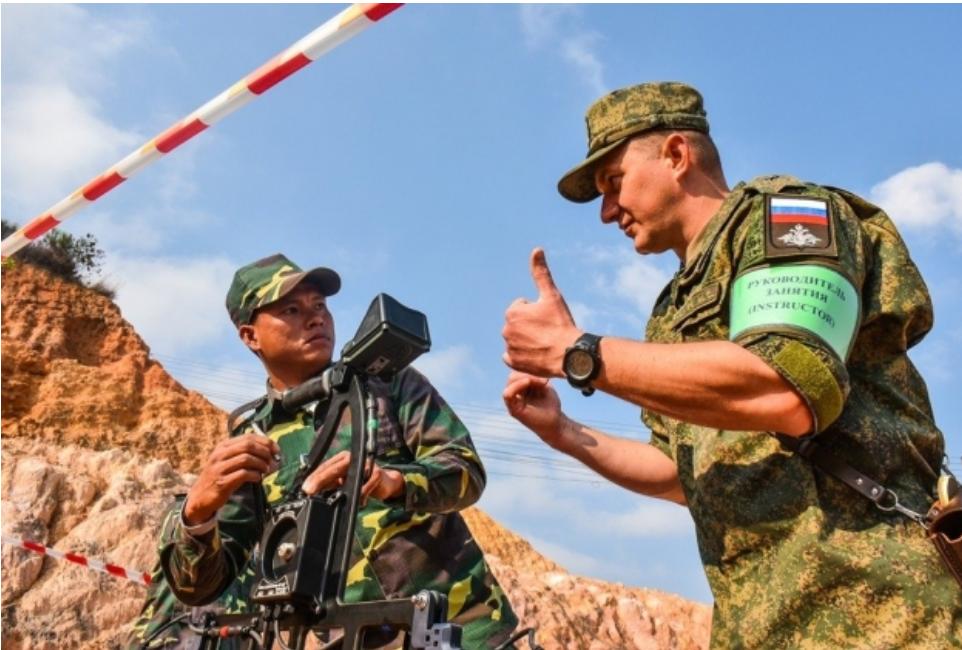 Rusia ha comenzado a construir una base aérea militar en Laos