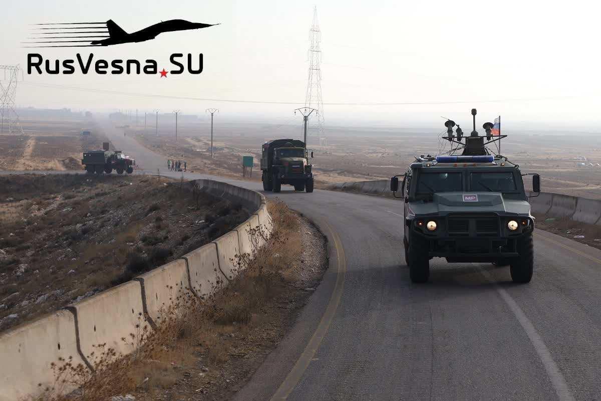 En fotos-Columnas de militares rusos fueron a diferentes partes de Siria