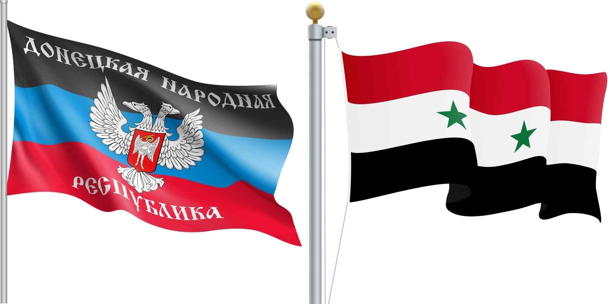 La República Árabe Siria y la República Popular Donetsk entablan una estrecha cooperación en la esfera política