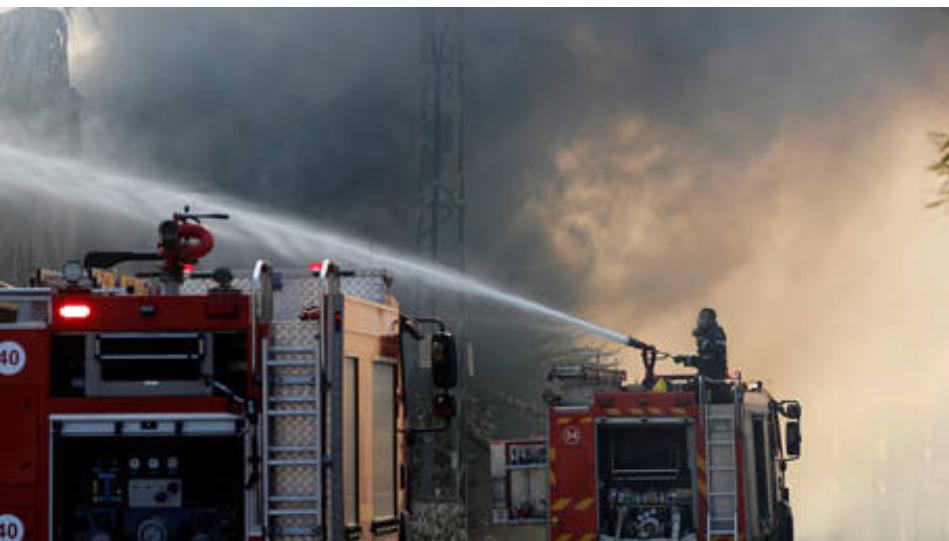 (Video) Incendio masivo estalla en la refinería de petróleo en Haifa, Israel