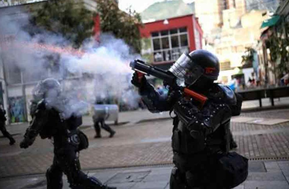 La ONU dice que está preocupada por la represión contra los manifestaciones en las protestas de Colombia