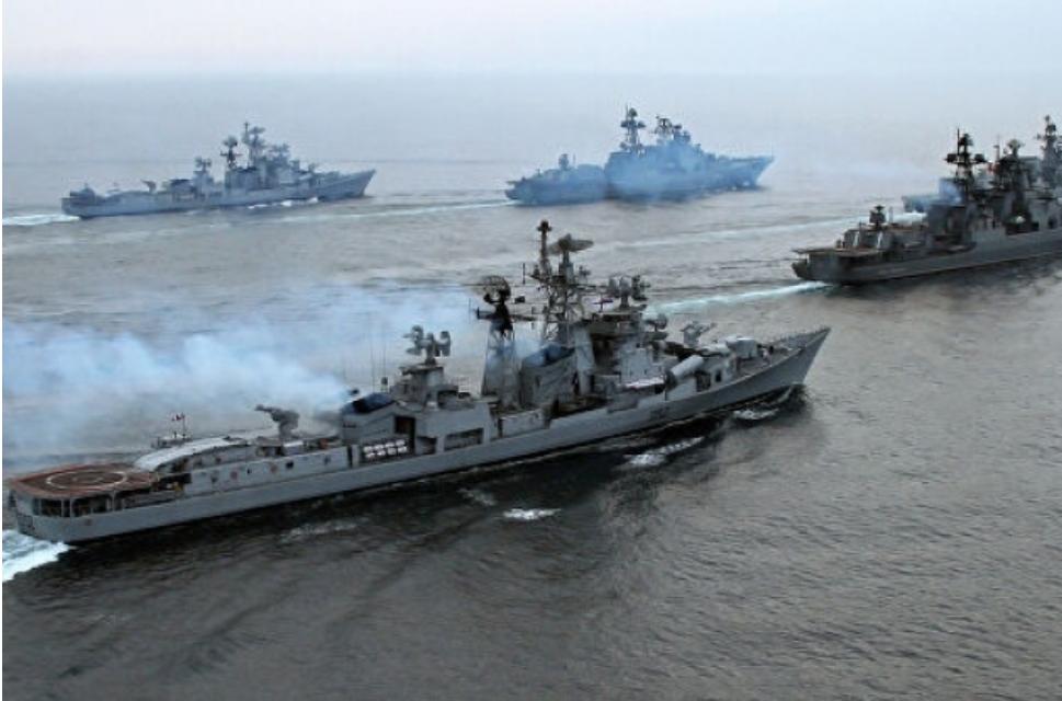 Rusia tiene la intención de duplicar el número de buques de guerra y submarinos en el Mediterráneo