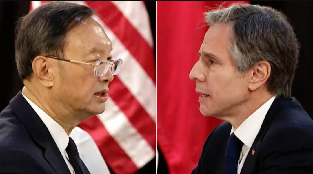"""""""La diplomacia coercitiva es una especialidad de Estados Unidos no de China """" : China se defiende en un contraataque a Blinken"""