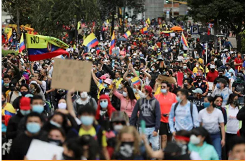 Comité Nacional del Paro afirma que Duque se niega a brindar garantías en Colombia