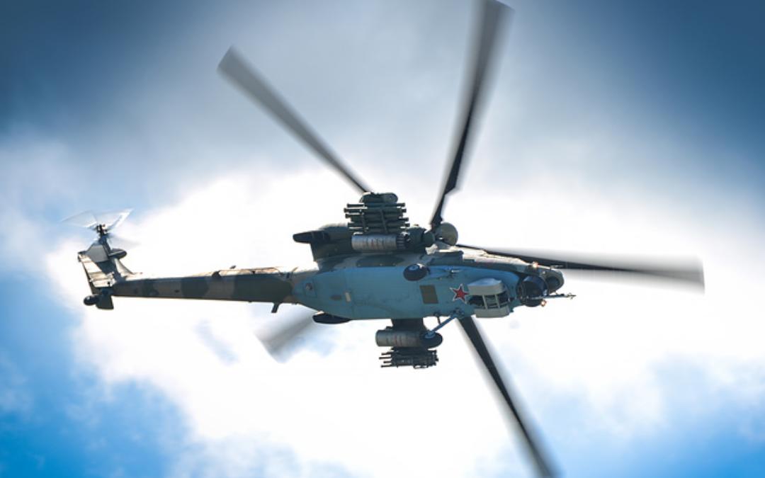 El helicóptero militar Mi-28NM de Rusia recibió una nueva generación de armas multipropósito de misiles y radares