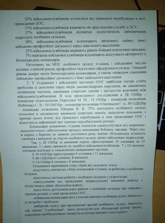 Las Fuerzas Armadas de Ucrania en el Donbass están increíblemente desmoralizadas, muestra una encuesta (+ Fotos)