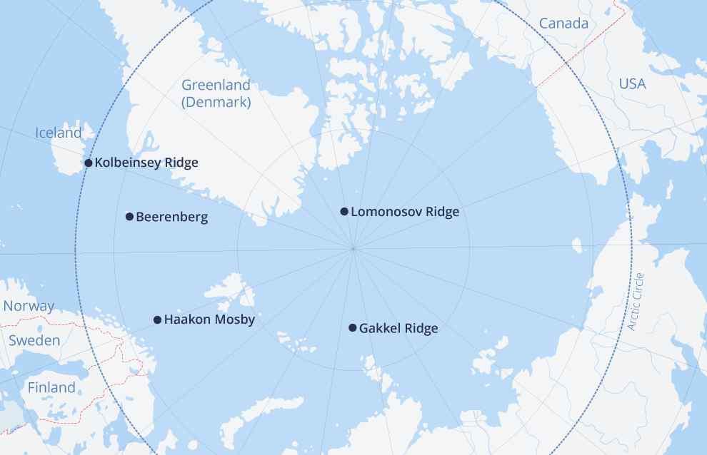 Estados Unidos cree que el Ártico se convertirá en una zona de rivalidad entre las grandes potencias