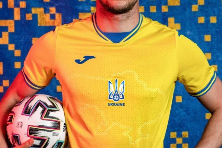 La UEFA ordenó a la selección ucraniana cambiar el escandaloso diseño de su camiseta para el Campeonato de Europa