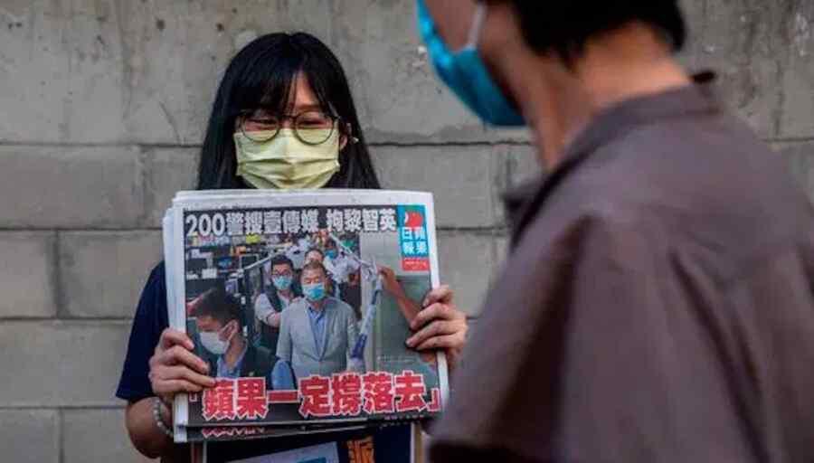 Medio de comunicación: otro ex miembro de la junta editorial de un periódico de la oposición fue detenido en Hong Kong