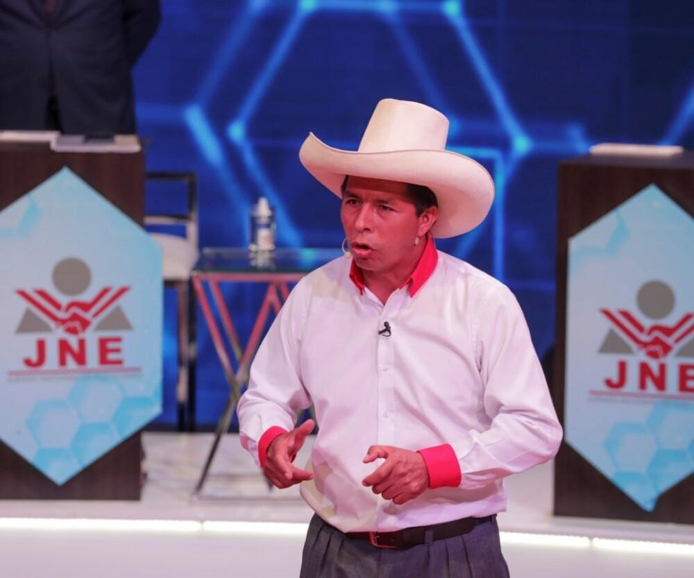 Medio de comunicación: Candidato presidencial peruano Castillo anunció su victoria electoral