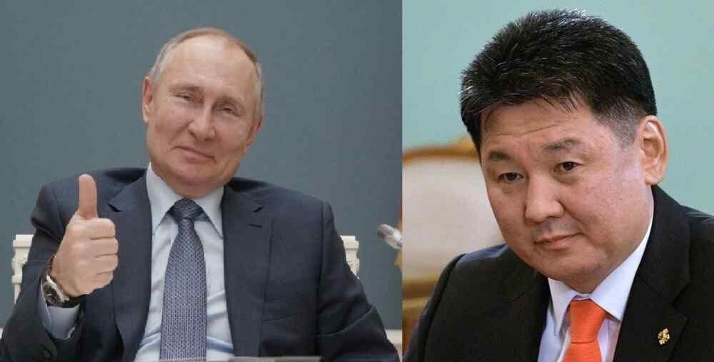 Putin felicitó a nuevo presidente de Mongolia