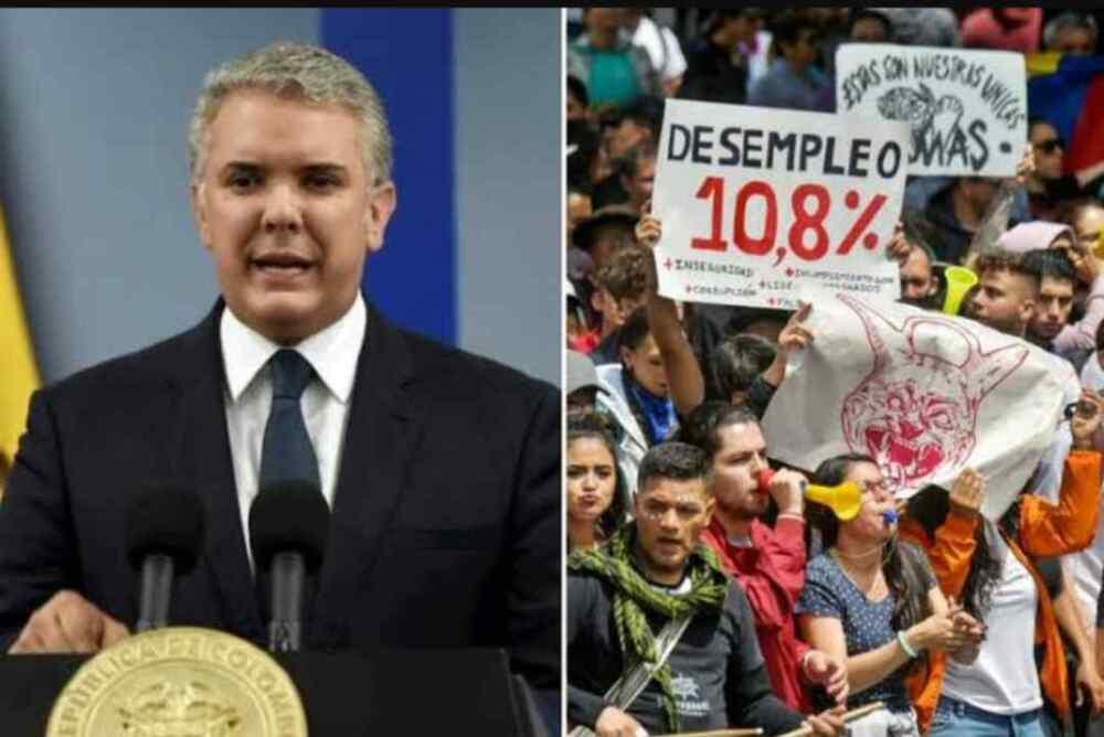 Mayoría en Colombia desaprueba la gestión como Presidente de Iván Duque