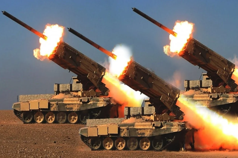 Rusia envió su nuevo lanzallamas pesado TOS-2 Tosochka para combatir a los terroristas en Siria